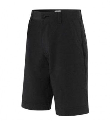Adidas ClimaLite Heather Junior Golf Shorts - Black/Grey