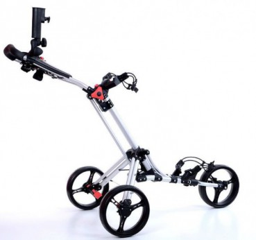 ClicGear Fastfold Quad Compact Golf Trolley